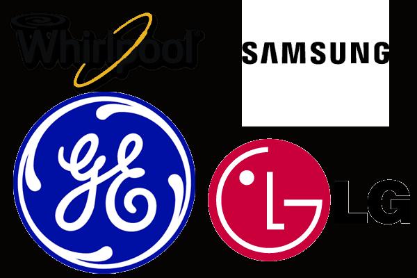 LG samsung whirlpool GE