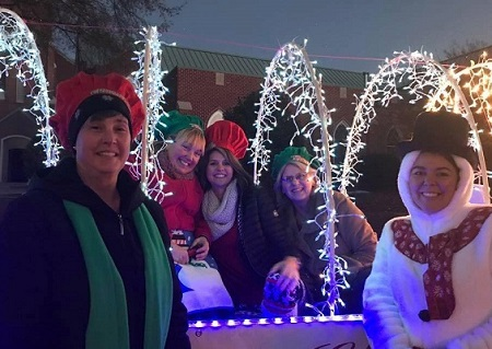 easley christmas parade 2018