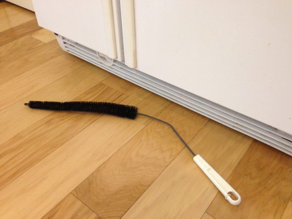 refrigerator coil brush